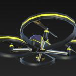 drone 4 rotori - videocamera hd - luci led - trasmettitore 4 canali 2.4 ghz distanza 30 m - batterie litio 7200 mha